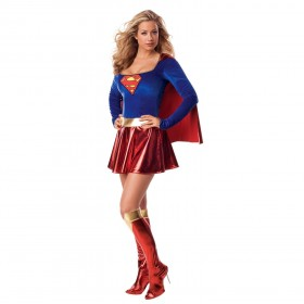 Licensed Ladies Supergirl Costume
