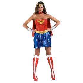 Ladies Licensed Wonder Woman Costume