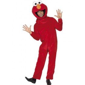 Adult Elmo Jumpsuit