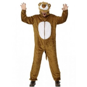 Lion Jumpsuit Costume