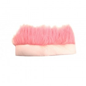 Fluffy Light Pink Troll Headband