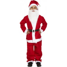 Childrens 5 Piece Santa