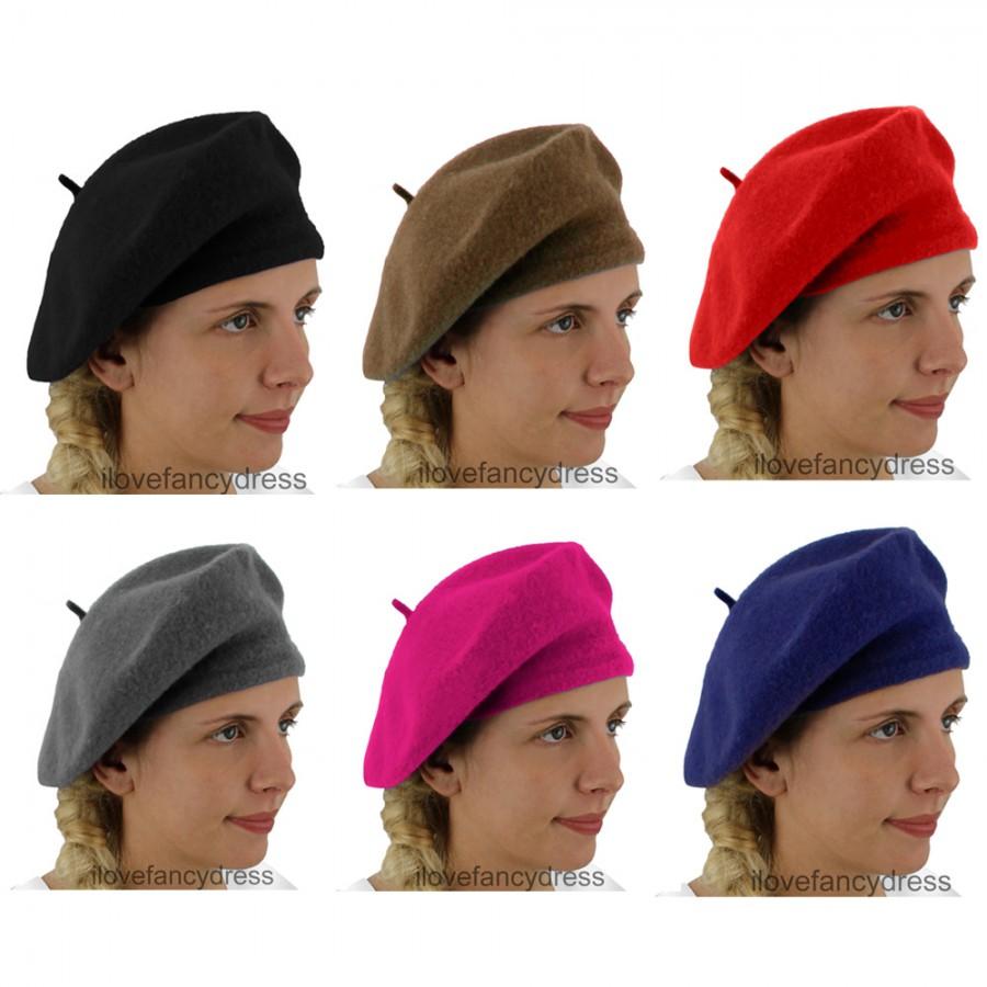 Funny Hat Caps Beanies Skullies Fedoras Berets Dress: French Beret
