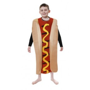 Childrens Hot Dog Costume