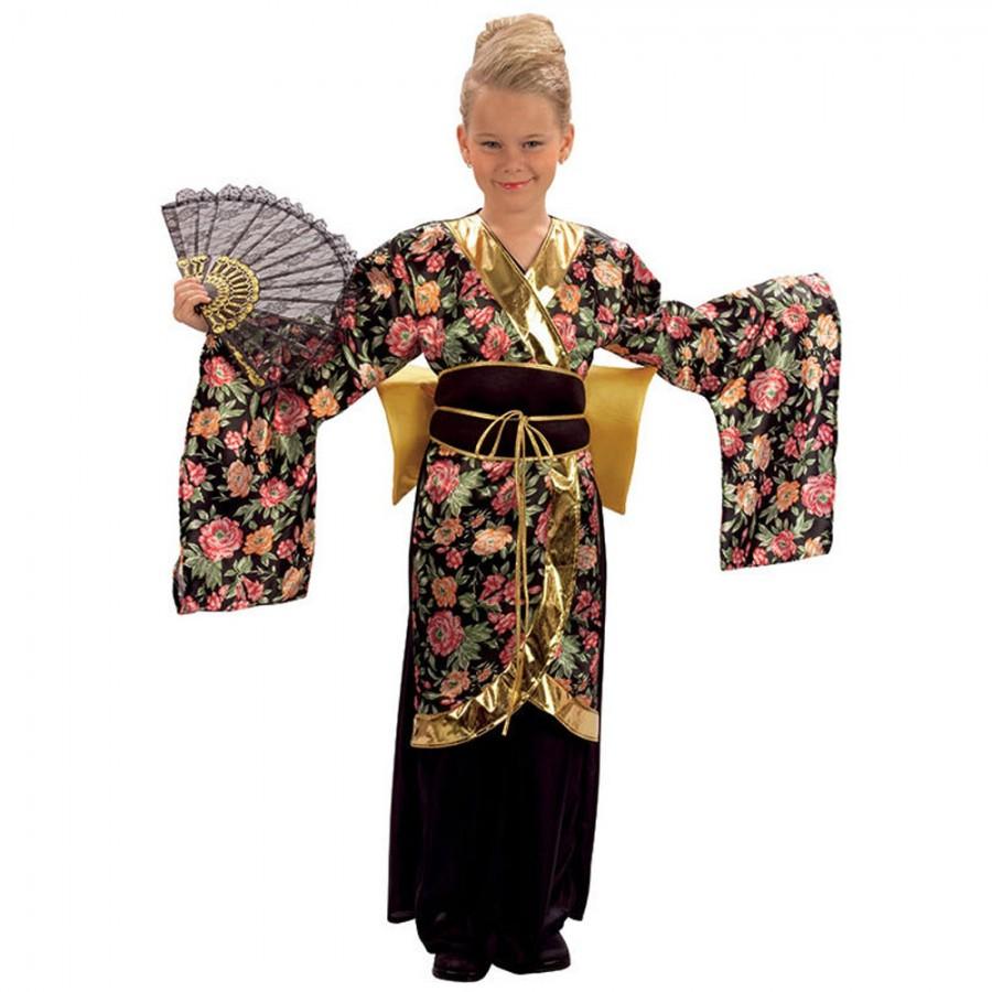 Geisha Girl Chinese Japanese Costume
