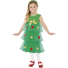 Little Christmas Tree Tutu Dress