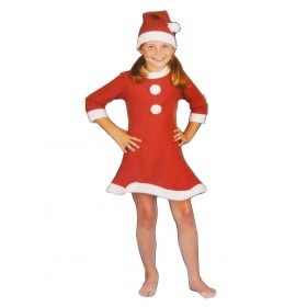 Girls Santa Costume