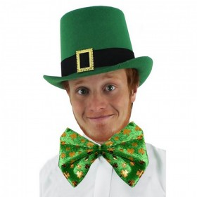 Irish Buckle Hat and Bowtie