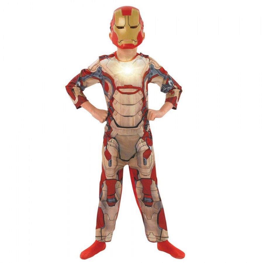 Iron Man Merchandise You've reached our Iron Man merchandise page, your gateway to the largest assortment of Iron Man products online. We have tons of Iron Man tees for all ages; and we carry other hard-to-find Iron Man products as well, like Iron Man bobbleheads, key chains, magnets, pint glasses, stickers and more.