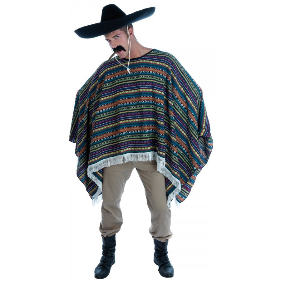 Mexican Wild West Poncho