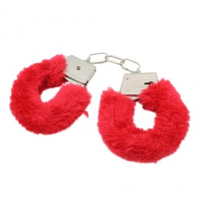 Fluffy Handcuffs - Red
