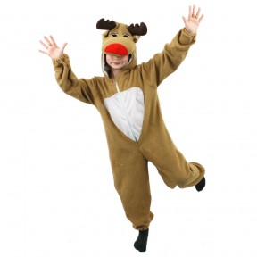 Childs Christmas Reindeer Onesie