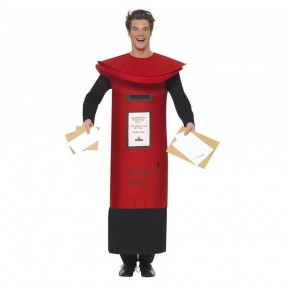 Royal Mail Pillar Box Costume