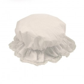 Kids Victorian Bonnet Fancy Dress Mop Cap