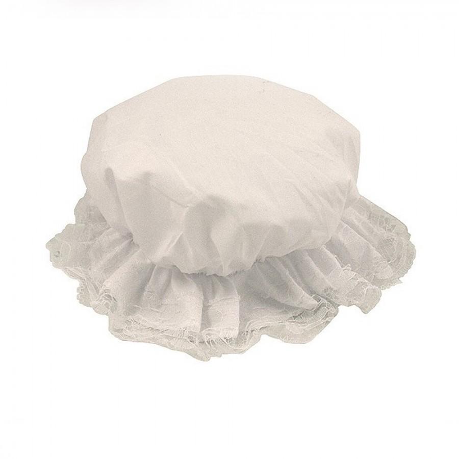 Kids Victorian Bonnet Fancy Dress Mop Cap