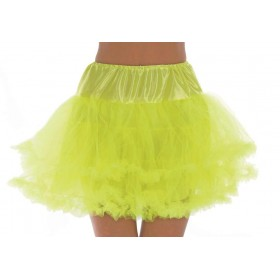 Neon Yellow Multi Layered Tutu/Underskirt
