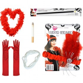6 Piece Red Flapper Kit