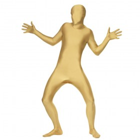Adults Gold Skin Suit