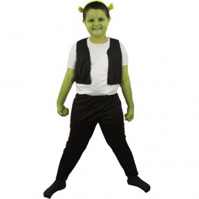 Boys Green Ogre Costume