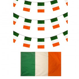 Irish Bunting + Flag
