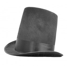 Victorian Stovepipe Top Hat