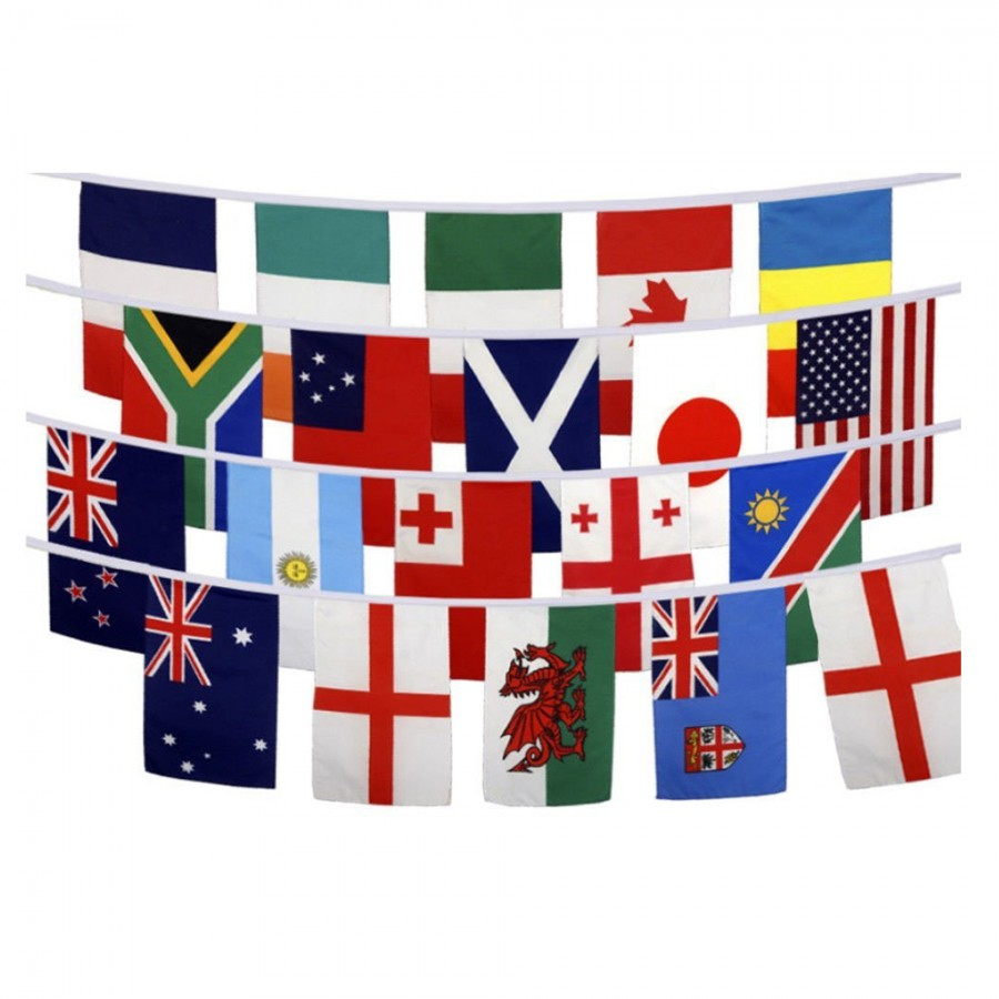 Free Comic Book Day Banner: Rugby World Cup Bunting