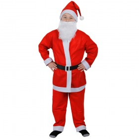 Childrens Santa Costume