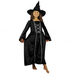 Girls Halloween Witch Costume