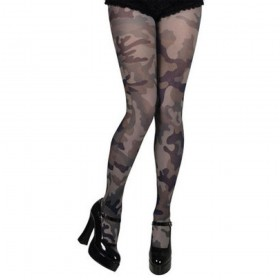 Ladies Camouflage Tights
