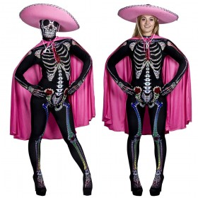 Ladies Day of the Dead Sugar Skeleton Costume