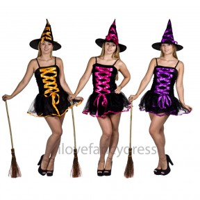 Ladies Sexy Halloween Witch