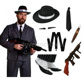 Deluxe 1920 Gangster Costume