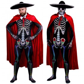 Day of the Dead Sugar Skeleton Costume