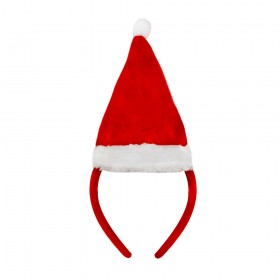 Mini Santa Hat on Headband