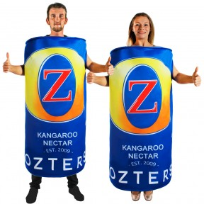 Ozters Beer Can Costume