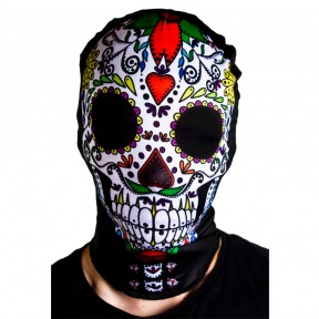 Sugar Skull Skeleton Mask