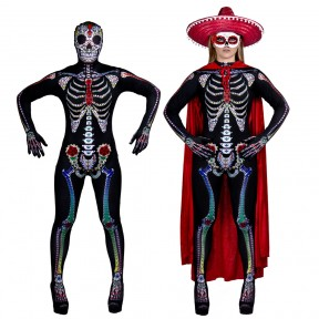 Womens Day of the Dead Sugar Skeleton Costume