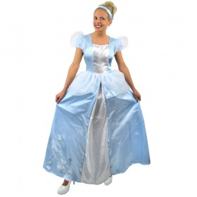 Faulty Adults Blue Princess Costume