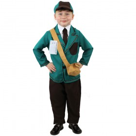 Childs Evacuee Boy War Costume