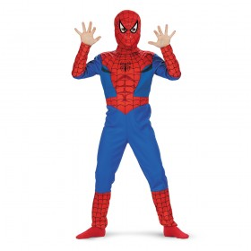 Licensed Childs Spiderman Costume
