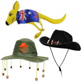 Australia 3 Pack Hat Set