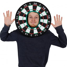 Dart Board Fancy Dress Hat