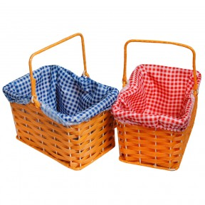 Gingham Baskets