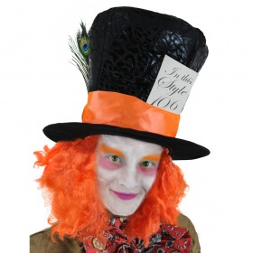 Adults Mad Hatter Hat with Card