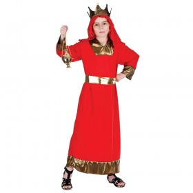 Childs Red Wise Man Nativity Costume