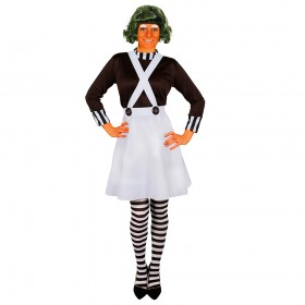 Ladies Chocolate Factory Worker Costume