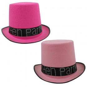 Pink Hen Party Top Hat