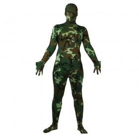 Camouflage Skin Suit