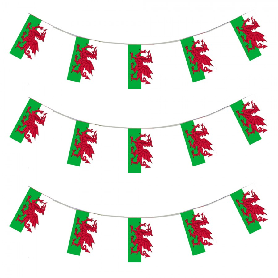 Free Comic Book Day Banner: Wales Bunting