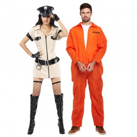 Couples Costume - Cops and Robbers